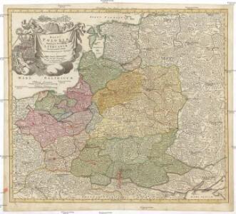 Regni Poloniae magnique ducatusq. Lithuaniae nova et exacta tabula