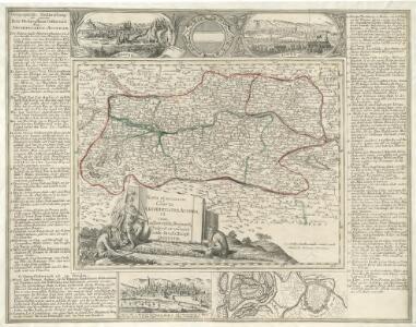 Nova et accurrata Charta Archiducatus Austriaci cum adhaerentib; Regionib;