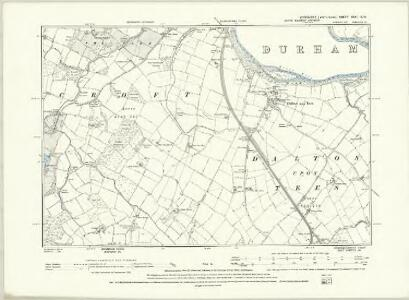 Yorkshire XXV.NE - OS Six-Inch Map