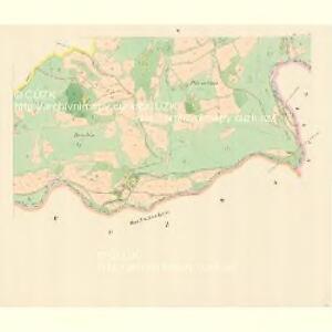 Klein Lhotta (Mala Lhotta) - m1686-1-004 - Kaiserpflichtexemplar der Landkarten des stabilen Katasters