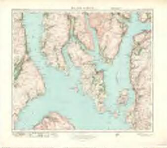 Island of Bute (71) - OS One-Inch map