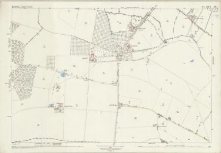 Warwickshire XLII.16 (includes: Church Lench; Harvington; Salford Priors) - 25 Inch Map