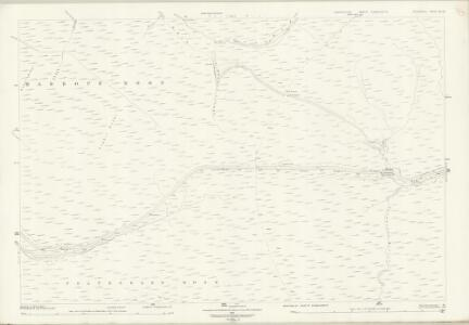 Derbyshire III.14 (includes: Charlesworth; Hope Woodlands) - 25 Inch Map