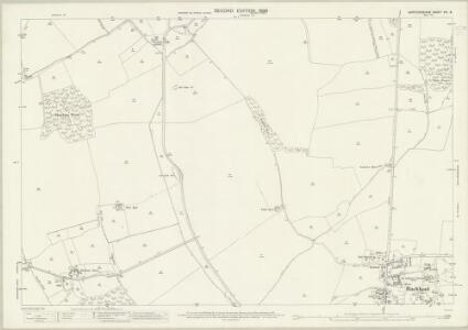 Hertfordshire VIII.8 (includes: Buckland; Kelshall; Reed; Sandon; Therfield) - 25 Inch Map
