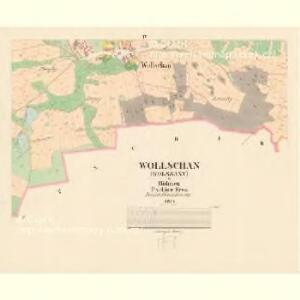 Wollschan (Wolssany) - c5458-1-003 - Kaiserpflichtexemplar der Landkarten des stabilen Katasters