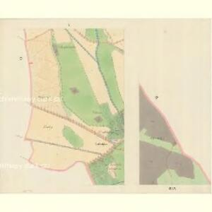 Bisenz (Bzenec) - m0321-1-004 - Kaiserpflichtexemplar der Landkarten des stabilen Katasters
