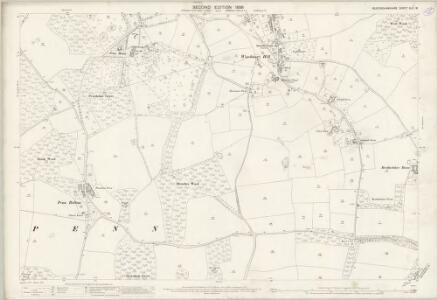 Buckinghamshire XLII.16 (includes: Amersham; Coleshill; Penn) - 25 Inch Map