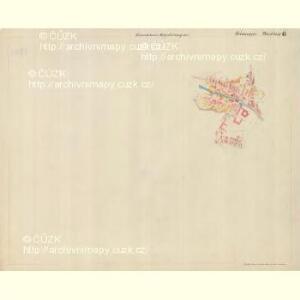 Piesling - m2287-1-007 - Kaiserpflichtexemplar der Landkarten des stabilen Katasters