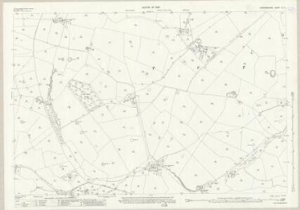 Staffordshire XL.2 (includes: Hanbury; Tutbury) - 25 Inch Map