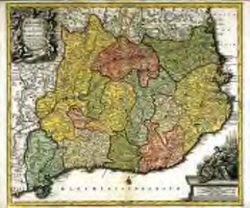 Cataloniæ principatus et Ruscinonis ac Cerretaniæ comitatuum exactissima delineatio