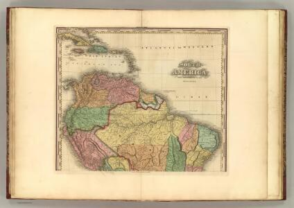South America (northern half).