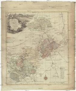 Delineatio geographica specialis territorii celsissimorum S.R.I. comitum Ruthenorum de Plauia utriusque linea senioris et iunioris partem Vogtlandiae