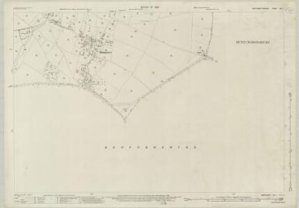 Northamptonshire XLI.1 (includes: Covington; Dean and Shelton; Hargrave) - 25 Inch Map
