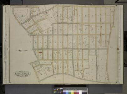 Queens, Vol. 3, Double Page Plate No. 12; Part of     Ward Three Whitestone; [Map bounded by 14th Ave., Haggertys Lane, 11th Ave.,     Clinton Pl., Cryders Lane, 10th Ave., 9th Ave., 8th Ave., 7th Ave., 5th Ave.,    4th Ave., Tatham Pl., Private, Howl