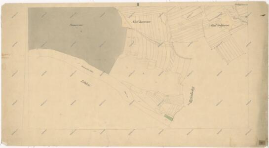 Katastrální mapa obce Bohy WC-VI-18 bf
