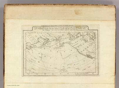 Map of the Discoveries made by Capts. Cook & Clerke.
