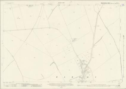 Hertfordshire V.10 & 11 (includes: Barkway; Barley; Great Chishill; Heydon; Little Chishill) - 25 Inch Map