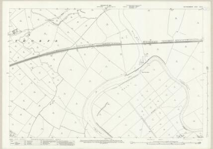 Nottinghamshire XXXV.2 (includes: Averham; Farndon; Newark Upon Trent; Rolleston; Staythorpe) - 25 Inch Map