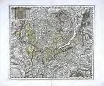 Nova et accurata agri Tigurini cum confinÿs tabula geographica