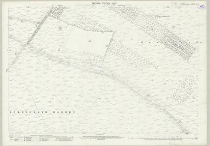 Suffolk XII.11 (includes: Lakenheath; Wangford) - 25 Inch Map