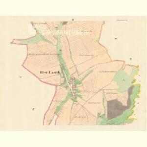 Klein Lasnik (Maly Lasnik) - m1477-1-002 - Kaiserpflichtexemplar der Landkarten des stabilen Katasters