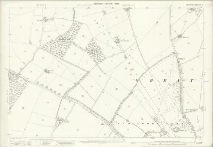 Berkshire VIII.5 (includes: Eaton Hastings; Great Faringdon) - 25 Inch Map