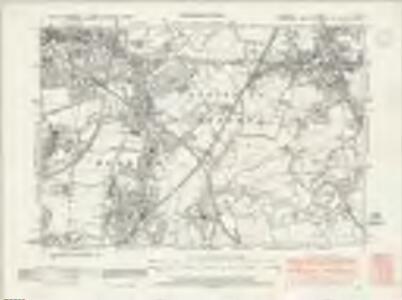 Cheshire X.NE - OS Six-Inch Map