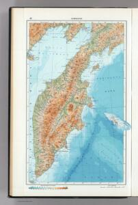 42.  Kamchatka.  The World Atlas.