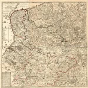 Comté d'Artois Basse Picardie et Grande Partie dela Haute Picardie qui composent le Gouvernement General de Picardie avec le Cambresis partie des Comtez de Flandre et d'Haynaut Generalité d'Amiens