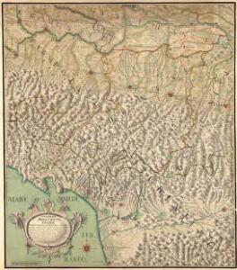 Geographische Special Carte von Italien
