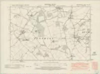 Hertfordshire VIII.SW - OS Six-Inch Map