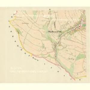 Bladensdorf (Mladenow) - m1832-1-004 - Kaiserpflichtexemplar der Landkarten des stabilen Katasters