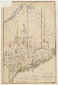 Map of the district of Maine : from the latest and best authorities