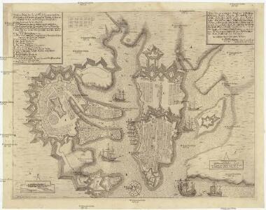 Wahrer Abriss der Insul Maltha wie auch der Residentz. und Haubt Vestung der weltberühmten Maltheser Ritter, mit Erklärung der Buchstaben
