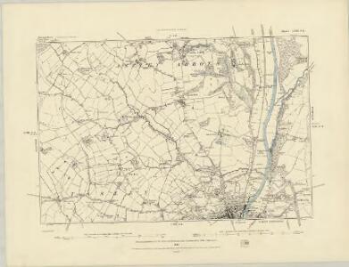 Shropshire LVIII.NW - OS Six-Inch Map