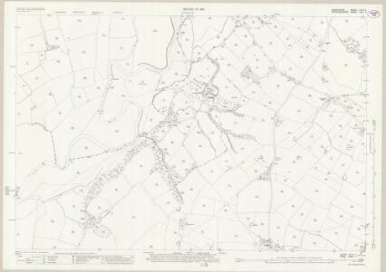 Derbyshire XLVII.7 (includes: Doveridge; Marston Montgomery; Rocester) - 25 Inch Map