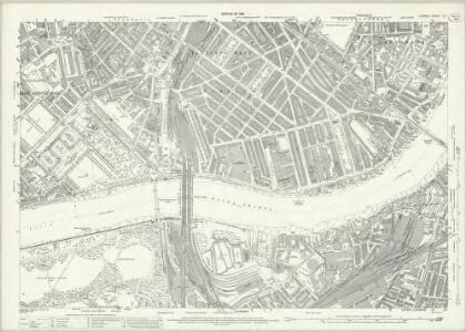 London (1915- Numbered sheets) IX.1 (includes: Battersea; Chelsea; City Of Westminster) - 25 Inch Map