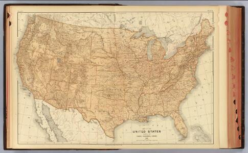 1. United States topographical features.