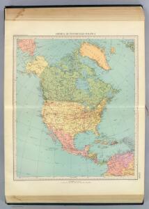 123-24. America Settentrionale politica.