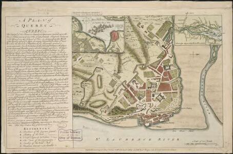 A plan of Quebec