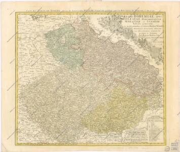 Regni Bohemiae Duc Silesiae Marchionatuum Moraviae et Lusatiae