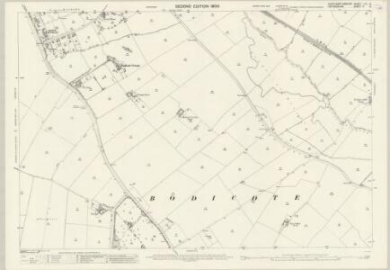 Northamptonshire LVIII.13 (includes: Banbury; Bodicote; Warkworth) - 25 Inch Map