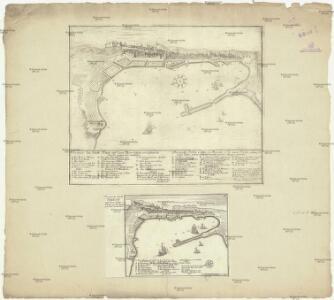 Prospect der Stadt Triest und derer Meer Häfen von Seifen des Nords gegen Sud Anzusehen