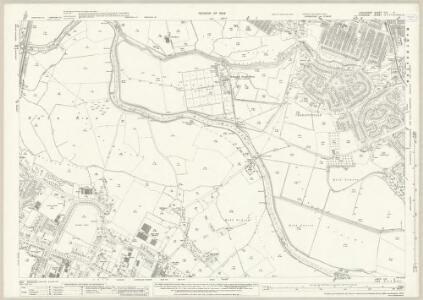 Lancashire CXI.5 (includes: Manchester; Sale; Stretford) - 25 Inch Map