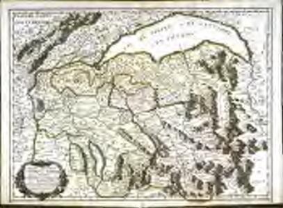 Partie septentr.nale des estats de Savoye