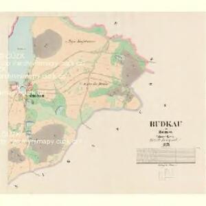 Budkau - c0641-1-002 - Kaiserpflichtexemplar der Landkarten des stabilen Katasters