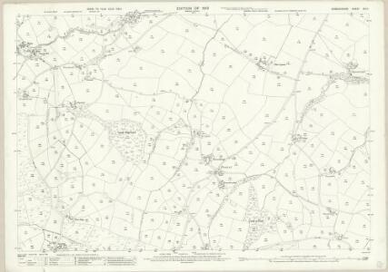 Denbighshire XIII.11 (includes: Bylchau; Henllan; Llanrhaeadr Yng Nghinmeirch Urban; Llanrhaiadr Yn Cinmerch) - 25 Inch Map