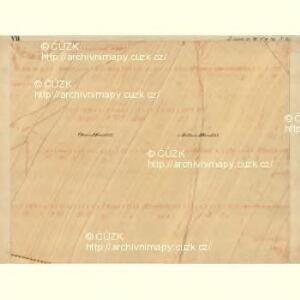 Joslowitz - m1044-1-008 - Kaiserpflichtexemplar der Landkarten des stabilen Katasters