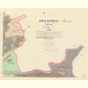 Pflanzen - c0262-1-002 - Kaiserpflichtexemplar der Landkarten des stabilen Katasters