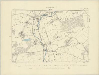 Warwickshire XLIII.SW - OS Six-Inch Map